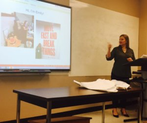 Emily Nicastro Lecture Charleston SC Public Relations Marketing